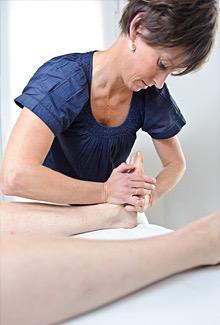 Lisbeth Hove Vestergaard bruger osteopati imod fodsmerte